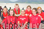Rowers from Sneem at the Cromane regatta on Saturday l-r: Shauna O'Shea, Nikita Rigter, Rebecca Murphy. Back row: Kerry Ann Murphy, Cieran O'Connor, Daniel O'Reardan and Cadhla O'Sullivan.