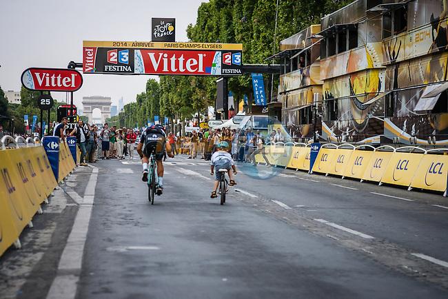 Tour de France, Stage 21: Évry > Paris Champs-Élysées, UCI WorldTour, 2.UWT, Paris Champs-Élysées, France, 27th July 2014, Photo by Pim Nijland