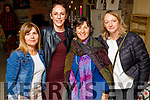 Attending St Brigid's Day: An evening of storytelling in Maddens on Saturday.<br /> L to r: Caroline Brolly, Joanne Riley, Amantha Murphy and Sherry Falk.