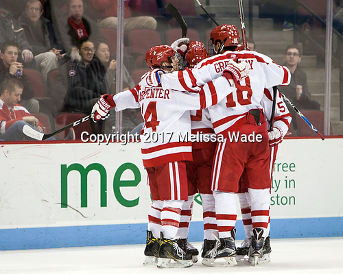 - The Boston University Terriers defeated the University of Massachusetts Minutemen 3-1 on Friday, February 3, 2017, at Agganis Arena in Boston, Massachusetts.The Boston University Terriers defeated the visiting University of Massachusetts Amherst Minutemen 3-1 on Friday, February 3, 2017, at Agganis Arena in Boston, MA.
