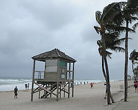 DEERFIELD BEACH, FL - OCTOBER 06: A General view of atmosphere on Hurricane Matthew prior to impacting south Florida on October 6, 2016 in Deerfield Beach , Florida. Credit: mpi04/MediaPunch