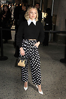 NEW YORK, NY - FEBRUARY 12: Olivia Holt at Michael Kors Fashion Show during tNew York Fashion Week 2020 in New York City on February 12, 2020. <br /> CAP/MPI/EN<br /> ©EN/MPI/Capital Pictures