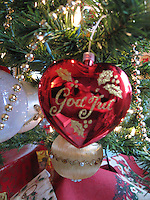 God Jul Christmas Ornament