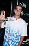 Actor/Skateboarder Ryan Sheckler arrives at Flo Live Mobile TV Presents X-Games After Party presented by  Flo Live Mobile TV at The Roxy on August 1, 2008 in West Hollywood, California.