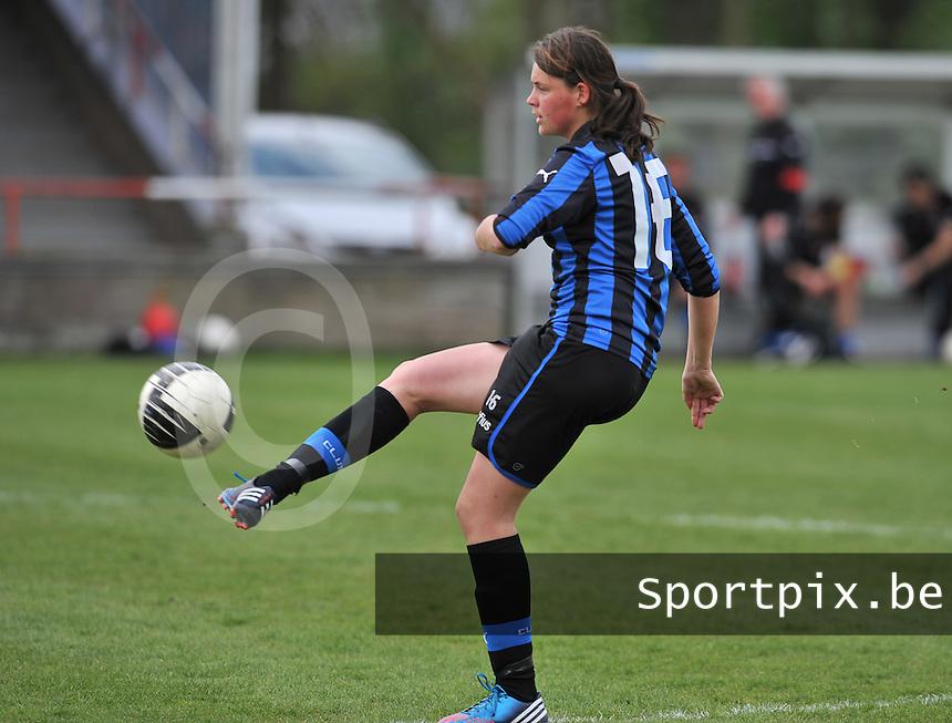 Club Brugge Dames - STVV Sint Truidense VV : Sofie Huyghebaert.foto DAVID CATRY / Nikonpro.be