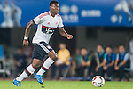 David Alaba of Bayern Munich in action during the Bayern Munich vs Guangzhou Evergrande as part of the Bayern Munich Asian Tour 2015  at the Tianhe Sport Centre on 23 July 2015 in Guangzhou, China. Photo by Aitor Alcalde / Power Sport Images