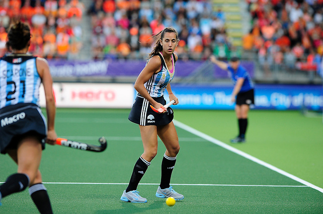 The Hague, Netherlands, June 12: Maria Josefina Sruoga #30 of Argentina looks on during the field hockey semi-final match (Women) between The Netherlands and Argentina on June 12, 2014 during the World Cup 2014 at Kyocera Stadium in The Hague, Netherlands. Final score 4-0 (3-0)  (Photo by Dirk Markgraf / www.265-images.com) *** Local caption ***