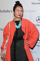 "HOLLYWOOD, LOS ANGELES, CA, USA - FEBRUARY 26: Amy Wong at The Art Of Elysium's 7th Annual ""Pieces Of Heaven"" Charity Art Auction held at Siren Studios on February 26, 2014 in Hollywood, Los Angeles, California, United States. (Photo by David Acosta/Celebrity Monitor)"