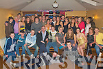 21ST BIRTHDAY: William Crean, Riverside Drive (seated 4th right) enjoying a great time celebrating his 21st birthday with load of family and friends at Stoker's Lodge restaurant and bar on Saturday..