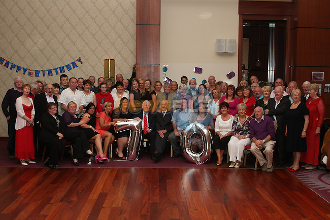 Michael Traynor's 70th in the Bettystown Court Hotel...Picture Jenny Matthews/Newsfile.ie