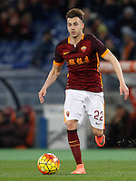Calcio, Serie A: Roma vs Sampdoria. Roma, stadio Olimpico, 7 febbraio 2016.<br /> Roma&rsquo;s Stephan El Shaarawy during the Italian Serie A football match between Roma and Sampdoria at Rome's Olympic stadium, 7 January 2016.<br /> UPDATE IMAGES PRESS/Riccardo De Luca