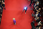 UTRECHT- Gala Gouden Kalf. Nederlands Film Festival. NFF. Gouden Kalf <br /> Actrice Thekla Reuten op de rode loper met fotografen (desiree schippers)<br /> Foto Felix Kalkman