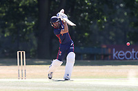 Johathan Das in batting action for Wanstead during Wanstead and Snaresbrook CC vs Hornchurch CC, Shepherd Neame Essex League Cricket at Overton Drive on 30th June 2018