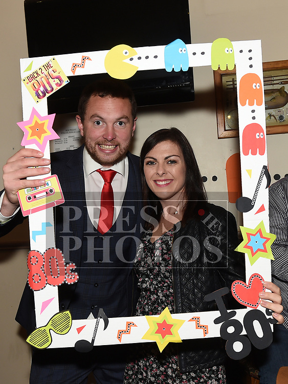 Martina Reddan and Cllr Paddy Meade at the Oskars Night for Duleek Community facility held in the Carranstown Lodge. Photo:Colin Bell/pressphotos.ie
