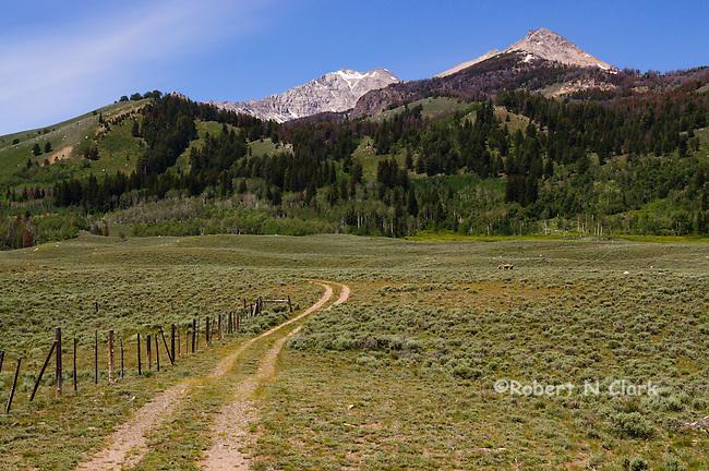 Copper Basin in Idaho near Sun Valley