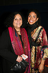 """Karla Mosley """"Christina"""" GL poses wth her mom Shirley as Karla performs at the Broadway For A New America presented by the Jewish Alliance for Change on April 13, 2009 at the Peter Norton Symphony Space, NYC. (Photo by Sue Coflin/Max Photos)"""