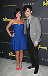 Krista Rodriguez and Andy Mientus attending the Broadway Opening Night Performance After Party for 'The Performers' at E-Space in New York City on 11/14/2012