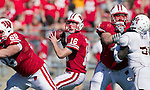 Wisconsin Badgers quarterback Scott Tolzien (16) prepares to throw the ball during an NCAA college football game against the Minnesota Golden Gophers on October 9, 2010 at Camp Randall Stadium in Madison, Wisconsin. The Badgers beat the Golden Gophers 41-23. (Photo by David Stluka)