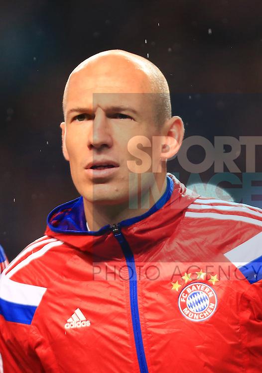 Arjen Robben of Munich - Manchester City vs. Bayern Munich - UEFA Champion's League - Etihad Stadium - Manchester - 25/11/2014 Pic Philip Oldham/Sportimage