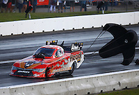 Jun 4, 2016; Epping , NH, USA; NHRA funny car driver Chad Head during qualifying for the New England Nationals at New England Dragway. Mandatory Credit: Mark J. Rebilas-USA TODAY Sports