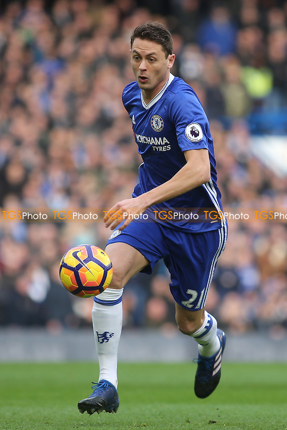 Nemanja Matic of Chelsea during Chelsea vs Arsenal, Premier League Football at Stamford Bridge on 4th February 2017