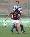 Stenny's Martin Grehan and Morton's Sean Crighton.