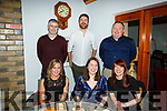 Enjoying the night out in Bella Bia on Saturday night, Seated l to r: Caroline Delane, Mary Conway and Treasa Edmonds.<br /> Back l to r: Eamon O&rsquo;Neill, Ronan McGrath, Eoin O&rsquo;Neill and Michael Milner