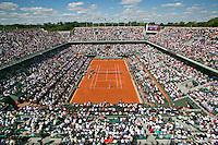 France, Paris, 04.06.2014. Tennis, French Open, Roland Garros,  Court Philippe Chatrier (centercourt)<br /> Photo:Tennisimages/Henk Koster