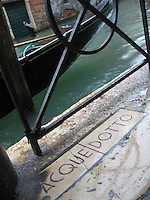 Acquedotto, Venice