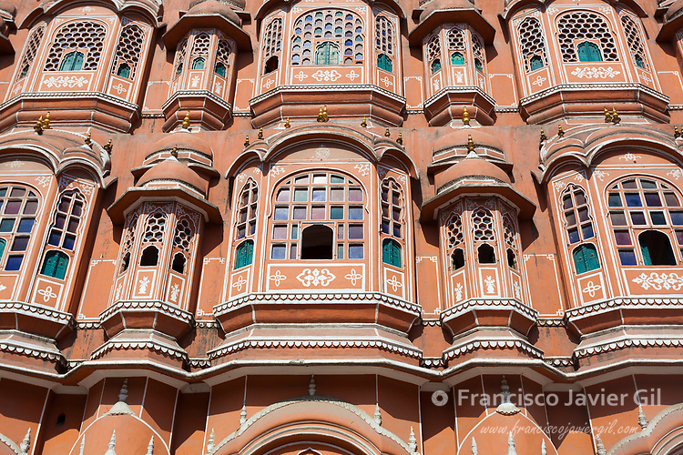 Hawa Mahal, Palace of the Winds, Jaipur, Rajasthan, India