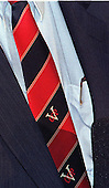 One of Paula Jones' attorneys, Gilbert Davis, is running for Attorney General on the Republican ticket in Virginia.  This is a close-up of the tie he wore during today's press conference on the U.S. Supreme Court's decision in favor of his client's lawsuit against United States President Bill Clinton in Washington, DC on May 27, 1998.<br /> Credit: Ron Sachs / CNP
