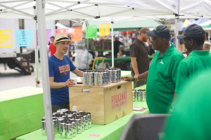 New York, NY - July 15, 2016: Grow NYC celebrates the 40th Anniversary of the New York City Greenmarkets at Union Square.<br /> <br /> CREDIT: Clay Williams for Gothamist.<br /> <br /> &copy; Clay Williams / claywilliamsphoto.com