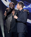 Randy Jackson and Ryan Seacrest  at The AMERICAN IDOL Season Ten judges' panel Announcement held at The Forum in Los Angeles, California on September 22,2010                                                                               © 2010 Hollywood Press Agency