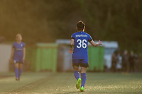 Seattle, WA - April 15th, 2017: Nahomi Kawasumi during a regular season National Women's Soccer League (NWSL) match between the Seattle Reign FC and Sky Blue FC at Memorial Stadium.