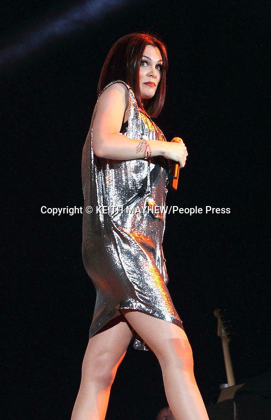 London, Jessie J performs at the  BBC Radio 2 Live in Hyde Park, London - September 9th 2012..Photo by Keith Mayhew..