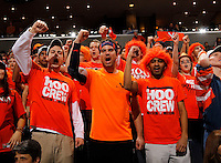 Virginia fans cheer during the game Saturday, February 22, 2014,  in Charlottesville, VA. Virginia won 70-49.