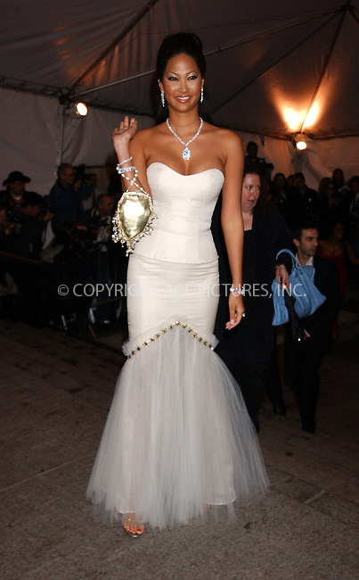 WWW.ACEPIXS.COM . . . . . ....NEW YORK, MAY 2, 2005....Kimora Lee Simmons arrives at The Costume Institute Gala Celebrating Chanel at the Metropolitan Museum of Art.....Please byline: KRISTIN CALLAHAN - ACE PICTURES.. . . . . . ..Ace Pictures, Inc:  ..Craig Ashby (212) 243-8787..e-mail: picturedesk@acepixs.com..web: http://www.acepixs.com
