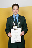 Cycling Girls Winner - Emma Crum. ASB College Sport Young Sportsperson of the Year Awards 2006, held at Eden Park on Thursday 16th of November 2006.<br />