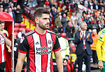 Ched Evans of Sheffield Utd during the Championship match at Bramall Lane Stadium, Sheffield. Picture date 16th September 2017. Picture credit should read: Jamie Tyerman/Sportimage