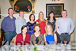 Birthday Party : Noreen McEvoy, Moyvane celebrating her birthday with family & friends at the Lisytowel Arms Hotel on Saturday night last. Front  : Anne Marie, Noreen & Denise McEvoy. Back : Johnny McEvoy, Kieran Sheehan, Sinead Kearney, Caterina Sheehan, Ena McEvoy &  Myles Kearney.