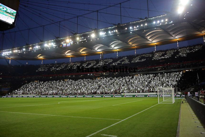 Eintracht Fans in Europapokalstimmung - Eintracht Frankfurt vs. Karabach Adam, UEFA Europa League 1. Runde, Rückspiel