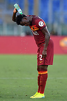 Amadou Diawara of Roma<br /> during the Serie A football match between AS Roma and ACF Fiorentina at stadio Olimpico in Roma (Italy), July 26th, 2020. Play resumes behind closed doors following the outbreak of the coronavirus disease. <br /> Photo Antonietta Baldassarre / Insidefoto
