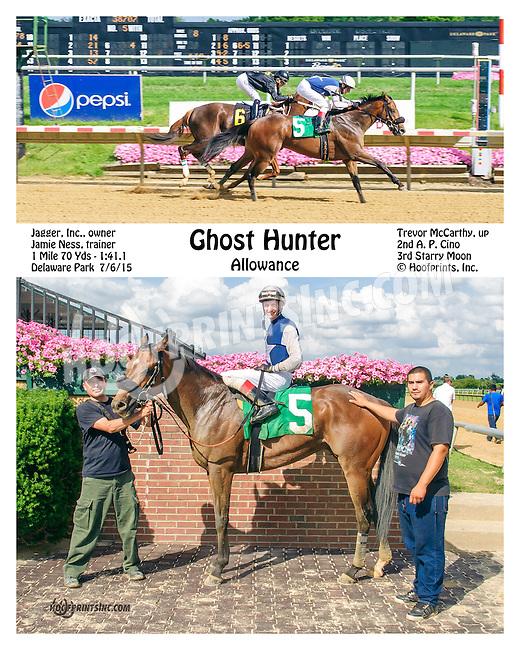 Ghost Hunter winning at Delaware Park on 7/6/15