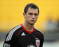 Blake Brettechneider#29 of D.C. United during a second round match of the Carolina Challenge against the Chicago Fire on March 9 2011 at Blackbaud Stadium, in Charleston, South Carolina. D.C. United won 1-0.
