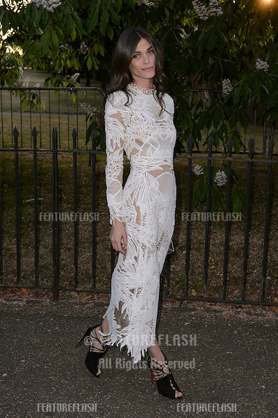 Elisa Sednaoui at The Serpentine Gallery Summer Party 2015 at The Serpentine Gallery, London.<br /> July 2, 2015  London, UK<br /> Picture: Dave Norton / Featureflash