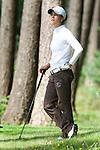 DEN DOLDER - Dewi Claire Schreefel tijdens het NK Strokeplay golf op Golfsocieteit  De Lage Vuursche. COPYRIGHT KOEN SUYK