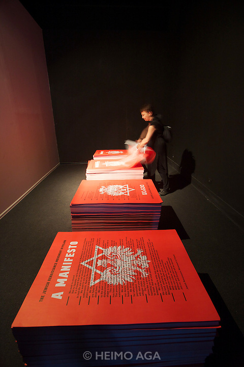 "54th Biennale of Venice..ILLUMInazioni - ILLUMInations.Giardini, Polish Pavillion..Yael bartana, ""...and Europe will be stunned"", 2011."
