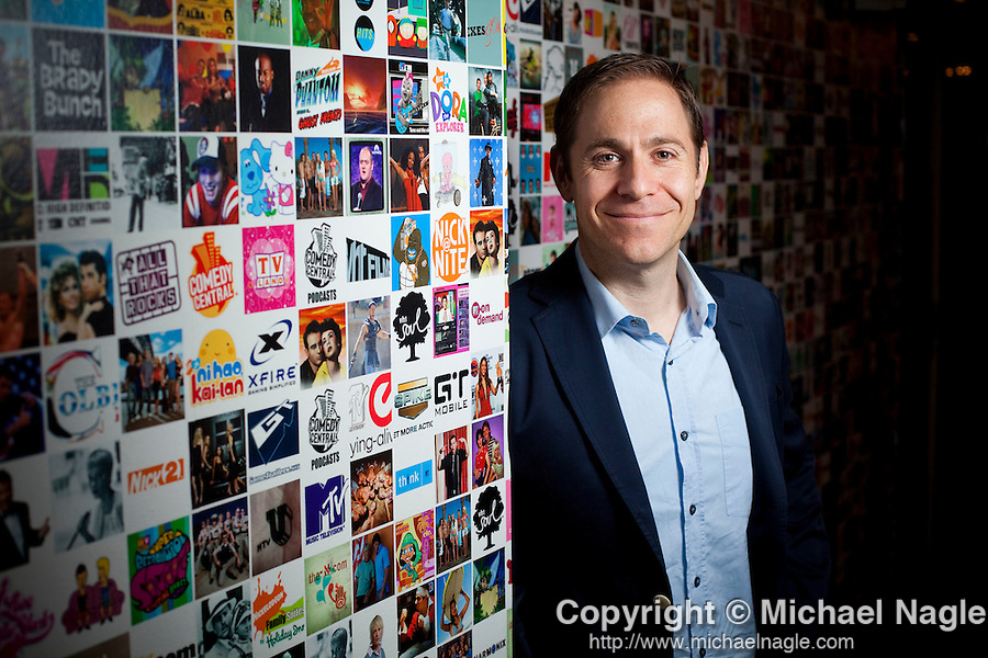 NEW YORK - JUNE 01, 2011:  MTV president Stephen K. Friedman poses for a portrait at MTV on June 01, 2011 in New York City.   (PHOTOGRAPH BY MICHAEL NAGLE)