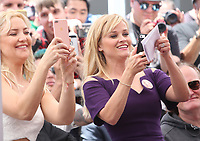 HOLLYWOOD, CA - MAY 04: Kate Hudson and Reese Witherspoon pictured at the ceremony honoring Goldie Hawn and Kurt Russell with a double star ceremony on The Hollywood Walk of Fame on May 4, 2017 in Hollywood, California. Credit: Faye Sadou/MediaPunch