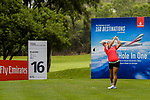 Chou Yi-Ting of Taiwan tees off during the first round of the EFG Hong Kong Ladies Open at the Hong Kong Golf Club Old Course on May 11, 2018 in Hong Kong. Photo by Marcio Rodrigo Machado / Power Sport Images